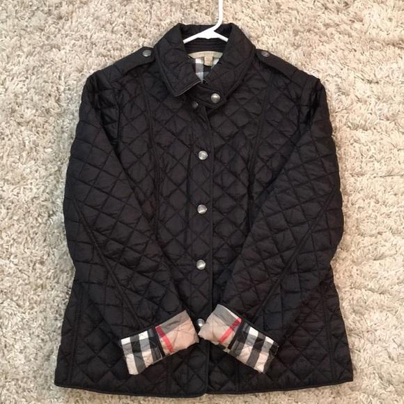 2c6da55f05a Women's Burberry Jacket, Size M, Black